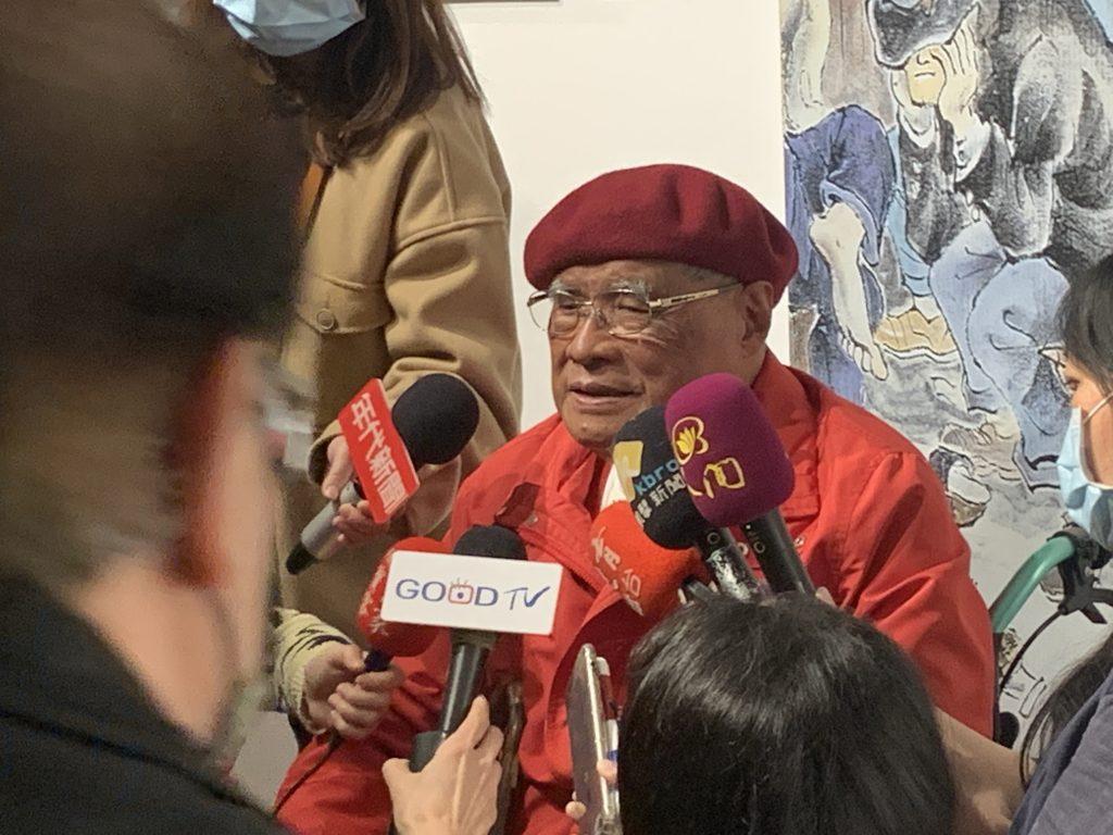 劉興欽老師接受採訪